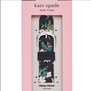 Kate Spade Apple Watch Floral Silicone Band NWT